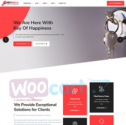 Keywalla wordpress Theme